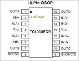TC1030 pinout,Pin out