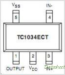 TC1034 pinout,Pin out
