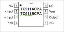 TC911A pinout,Pin out