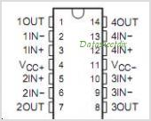 TL064ACDRG4 pinout,Pin out
