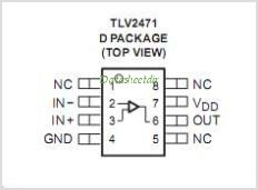 TLV2471A-Q1 pinout,Pin out