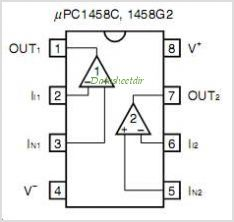Lm324 Op Pinout in addition 488 furthermore MTQ1OCBvcC1hbXA likewise  on mc1458 datasheet