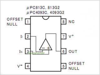 UPC4093 pinout,Pin out
