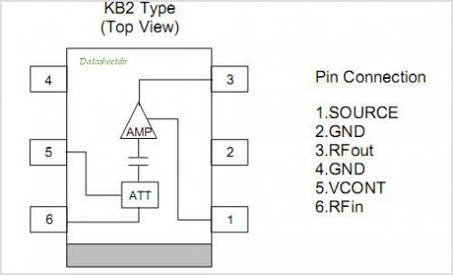 NJG1104KB2 pinout,Pin out
