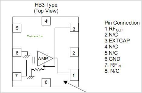 NJG1107HB3 pinout,Pin out