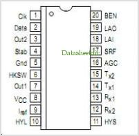 MC34016 pinout,Pin out
