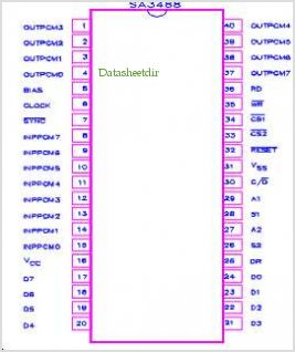 SA3488 pinout,Pin out