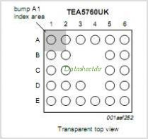 TEA5760UK pinout,Pin out