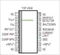LT1020MJ pinout,Pin out