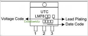 LM7805 pinout,Pin out