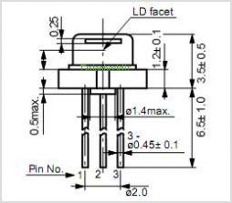 DL-7147-201 pinout,Pin out
