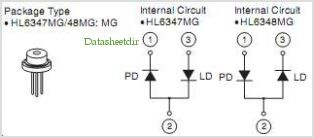 HL6347MG pinout,Pin out