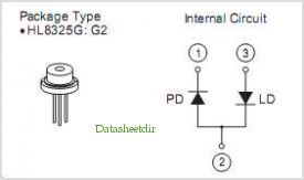 HL8325G pinout,Pin out