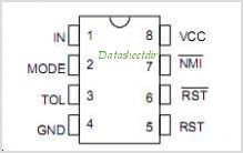 DS1231 pinout,Pin out