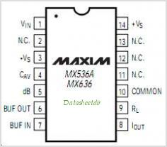 MX636JH pinout,Pin out