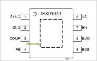 IFX91041 pinout,Pin out