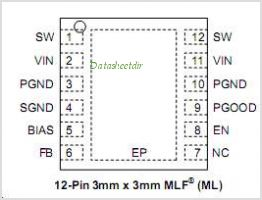 MIC4722 pinout,Pin out