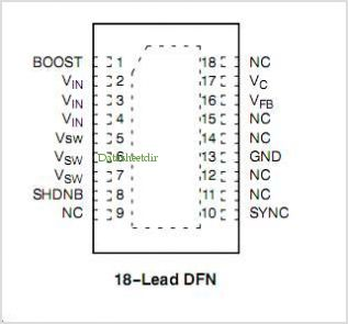NCP1547 pinout,Pin out