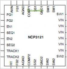 NCP3121 pinout,Pin out