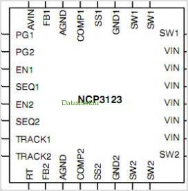 NCP3123 pinout,Pin out