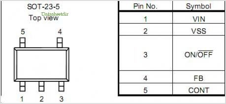 S-8551 pinout,Pin out