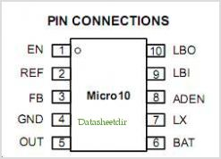 NCP1423 pinout,Pin out