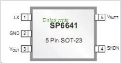 SP6641B pinout,Pin out