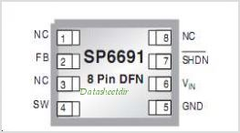 SP6691 pinout,Pin out