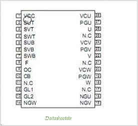 ECN3054 pinout,Pin out
