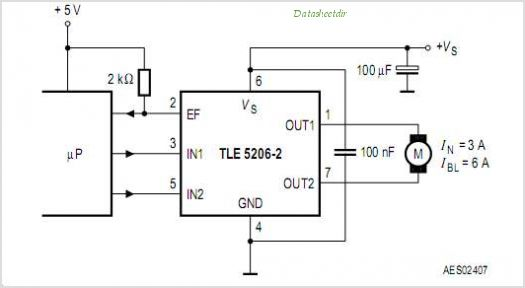 High Amp Motor Driver Chip