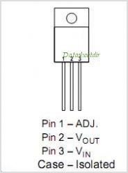 LM117HVK pinout,Pin out