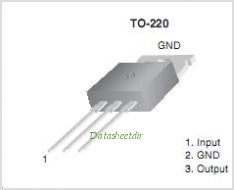 KA7808E pinout,Pin out