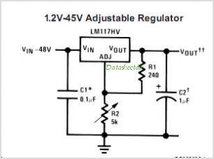 LM117HVK-MLS circuits