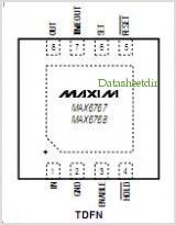 MAX6765 pinout,Pin out