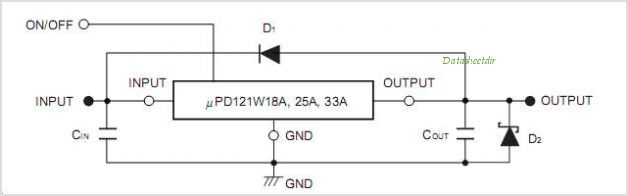 UPD121W00A circuits