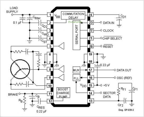 sensorless control of 3-phase brushless dc motors application circuits images