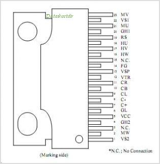 ECN30102 pinout,Pin out