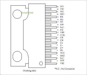 ECN30105 pinout,Pin out