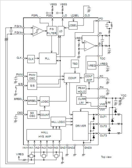 3 Phase Stepper Motor Controller Circuit