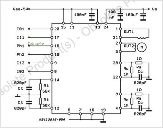 Serial Pwm Driver Ic For Stepper Motor Control Multiggett
