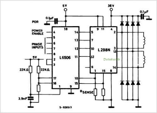L298 Stepper Motor Driver Schematic Impremedia Net