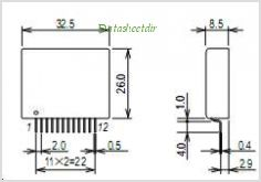 STK672-110-E pinout,Pin out