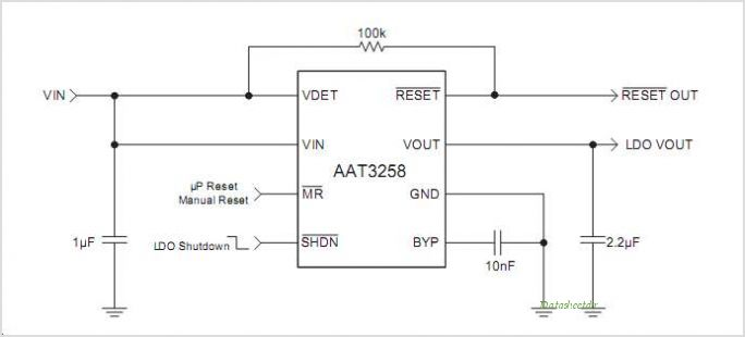 AAT3258ITS-3.3-R-T1 circuits