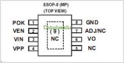 APE8903AMP-12 pinout,Pin out