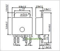 BA3257FP pinout,Pin out