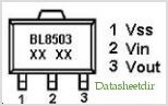 BL8503 pinout,Pin out
