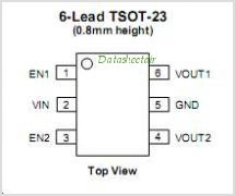 CAT6221 pinout,Pin out