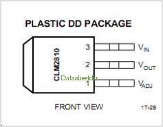 CLM2810U pinout,Pin out