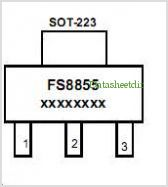 FS8855 pinout,Pin out