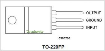 LF35ABV5V pinout,Pin out